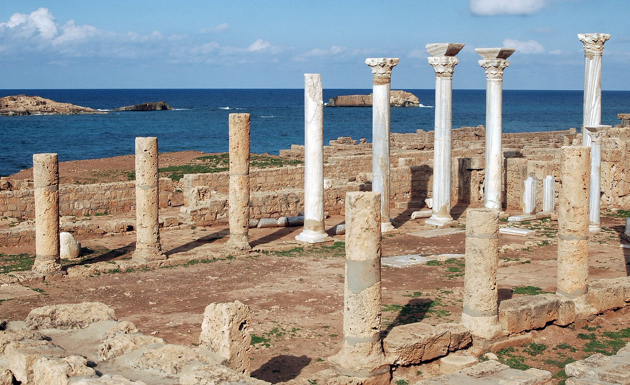 Apollonia: Basilica; Byzantine, 6th century A.D.