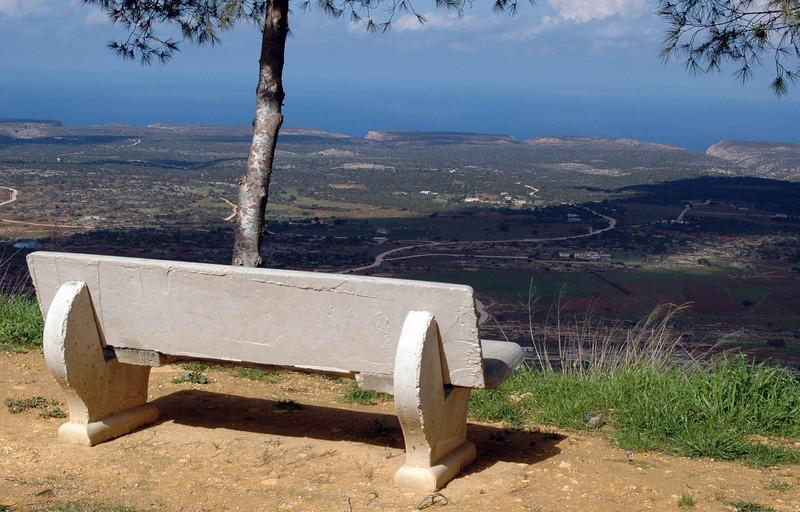 Cyrenaica, Djebel Akhdar (Green Mountain), looking north to the Mediterranean