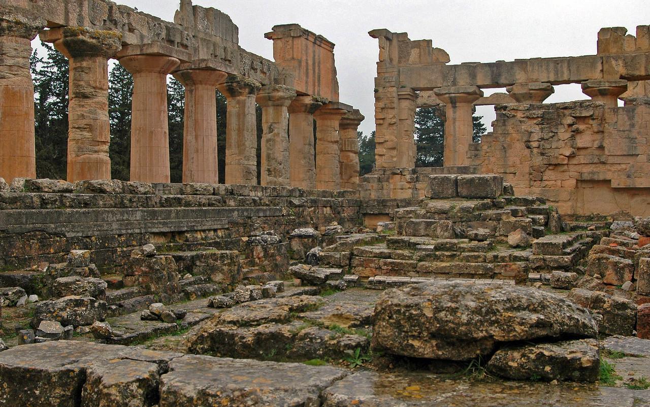 Cyrene: Temple of Zeus; Greek, 5th century B.C.