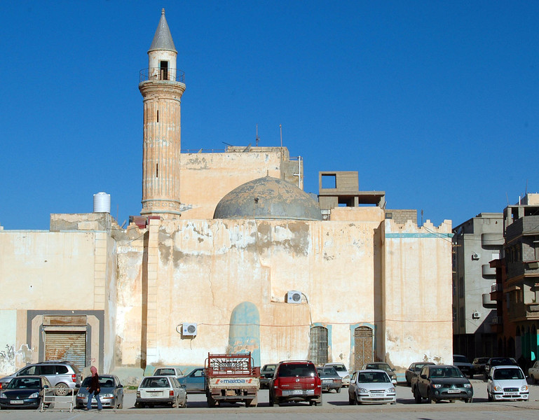 Benghazi: Mosque, old city Benghazi, in eastern Libya, is the country's second largest city after Tripoli, and was the site of the first anti-government uprising on February 15, 2011.