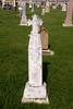 John Drehed stone with cross Liebenthal, KS St Joseph's Cemetery