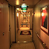 This was the daily route from and to our Stateroom