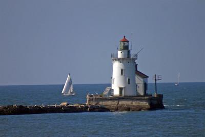 Cleveland Harbor West Pierhead Light Cleveland, OH
