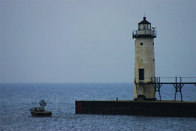 Manistee North Pierhead Light Manistee, MI