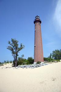 Little Sable Point Lighthouse Silver Lake State Park, Lake Michigan