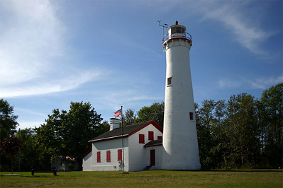 Sturgeon Point Lighthouse Harrisville, MI