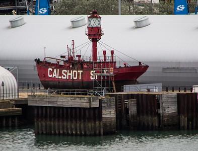 Calshot Spit Lightship Southampton