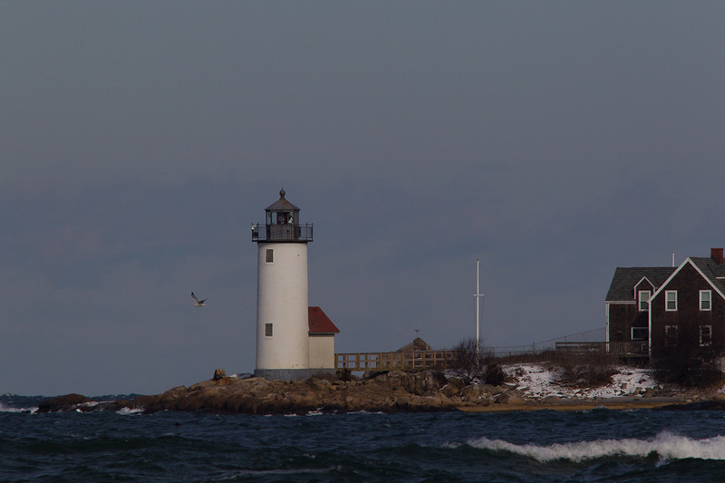 Annisquam Light viewed from Wingaersheek Beach