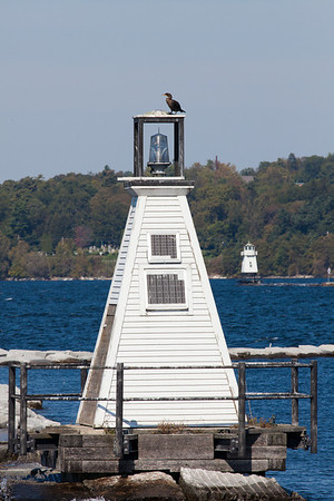 Burlington Breakwater Lights, Vermont