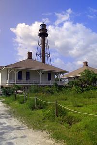 Sanibel Island Lighthouse  Florida