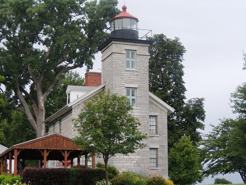 Big Soudus Lighthouse and Museum, Soudus Bay New York.