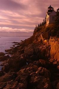 Bass Harbor Light House  Maine