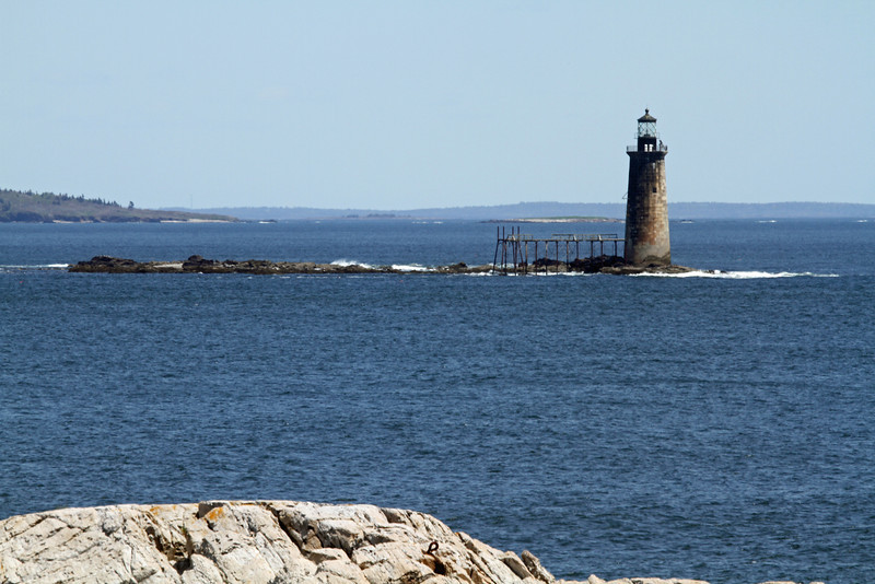 RAM ISLAND LEDGE LIGHT - CAPE ELIZABETH, ME