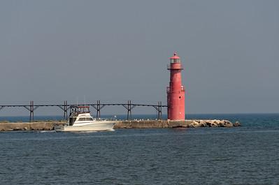 Algoma Lighthouse  Wisconsin