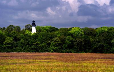 Amelia Island Lighthouse Florida