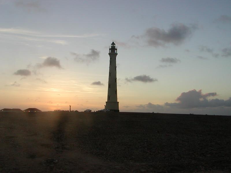 Sunset, Aruba Lighthouse, Aruba