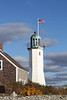 OLD SCITUATE LIGHT - SCITUATE, MA