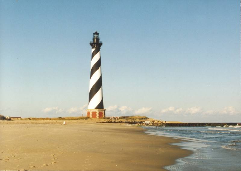 Original Location Cape Hatteras Lighthouse, Hatteras Island, North Carolina