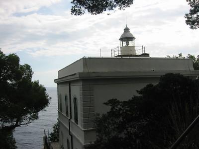 Lighthouse at Portofino.