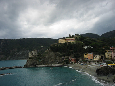 Monterosso harbor.