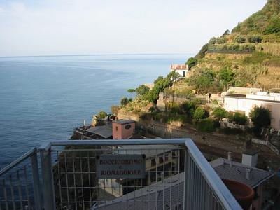 Morning in Riomaggiore.