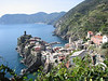 Descending into Vernazza.