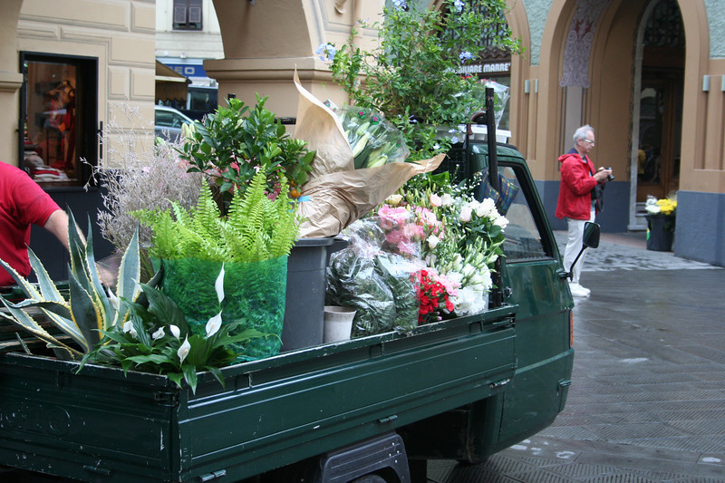A truckload for the town market.