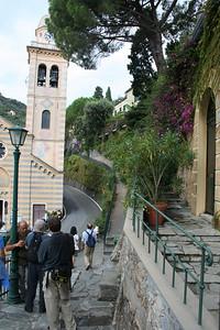 Our entry down into Portofino.