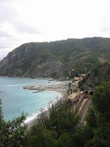 High above new Monterosso.