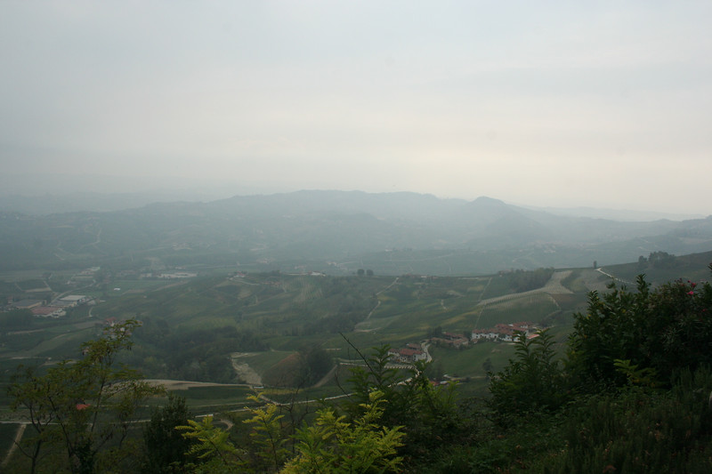 A view of a good part of the region, from La Morra.
