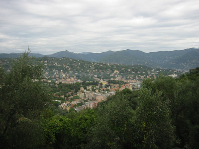 Above Santa Marguerita.