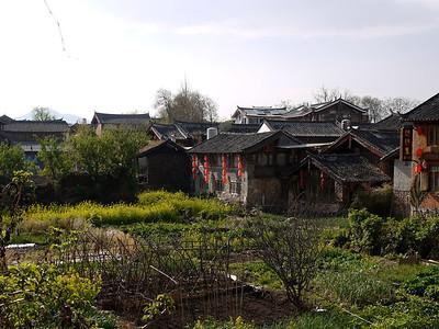 Shuhe - Small market garden in the town.