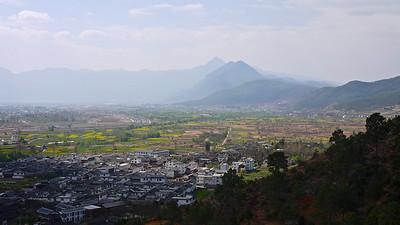 Shuhe - Looking Down the ValleyTowards Lijiang