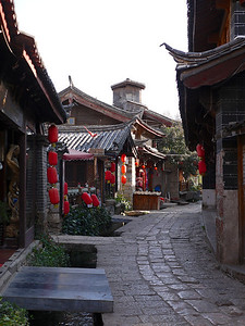 Shuhe - Streets in the early morning