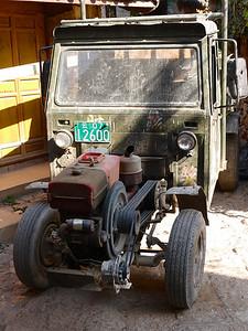 "Shuh - ""Old faithful"". Single cylinder, belt clutch rural vehicle."