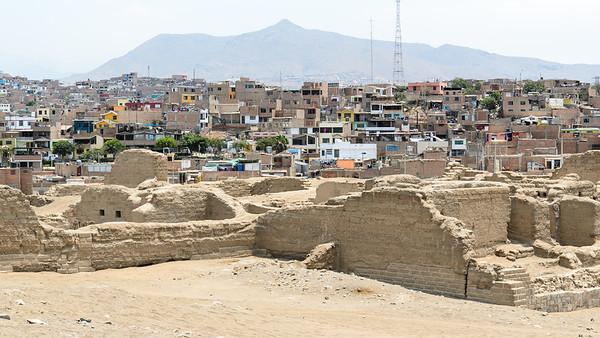 Pachacamac archeological site (Lurín, Peru)