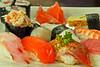 Sashsimi moriawase (44 S/. - 11 €) @ Edo Sushi Bar - San Isidro - Lima