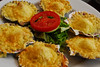 Conchas a la parmesana - Cevichería Punto Azul - C/. San Martin - Miraflores - Lima - Perú