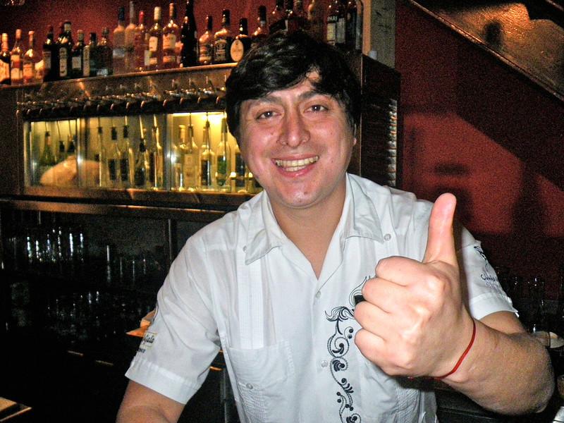 Gino Guerrero @ El 550, Miraflores, Lima, Peru
