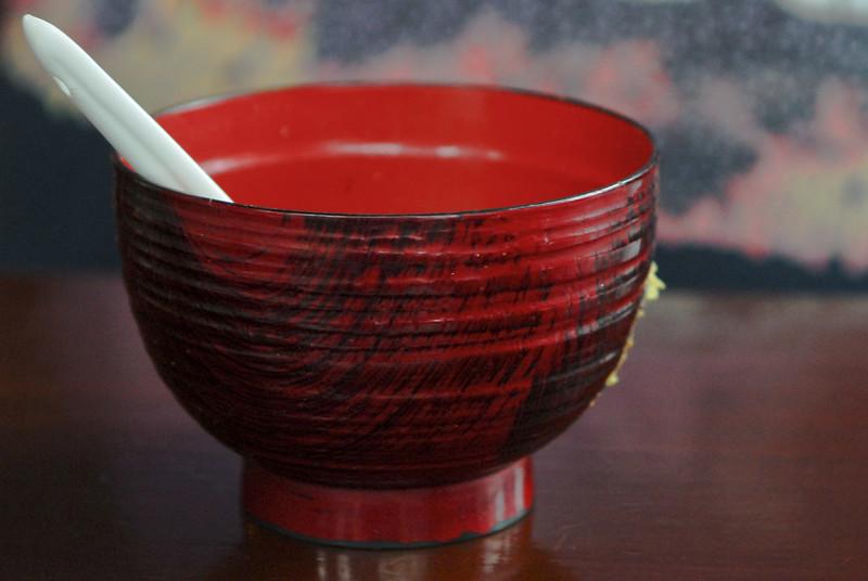 Cup of soup on the house @ Edo Sushi Bar - San Isidro - Lima<br /> <br /> Taza de sopa al cargo de la casa en Edo Sushi Bar - San Isidro - Lima<br /> <br /> Kopje soep op de kosten van het huis bij Edo Sushi Bar - San Isidro - Lima<br /> <br /> Tasse de soupe aux frais de la maison chez Edo Sushi Bar - San Isidro - Lima