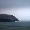 "Working title was ""50 Shades of Blue-Grey""; a view of the sea and Morro Solar from the Miraflores district, Lima, Peru."