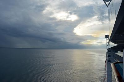 Sailing into Limon, Costa Rica