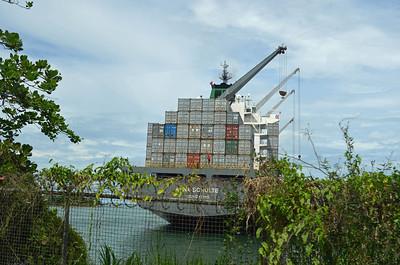 Container Ship near Limon