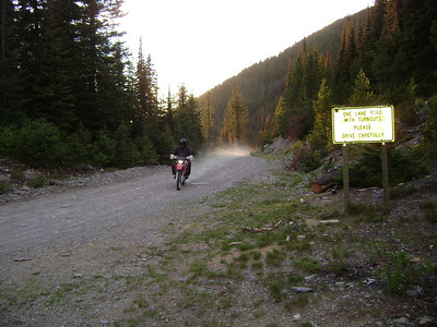 Huckleberry Pass outside Lincoln, Montana