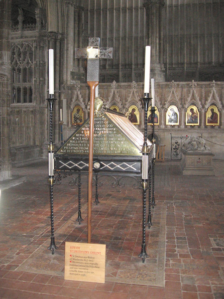 The Shrine of St. Swithin, Winchester Cathedral