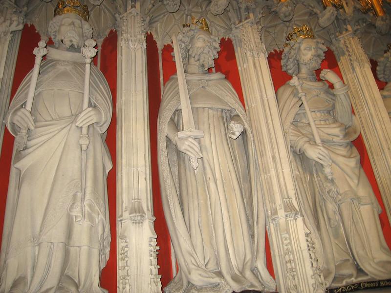 Choir Screen, York Minster (Henry III, Edward I, Edward II)