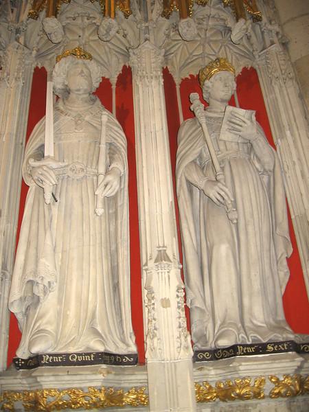 Choir Screen, York Minster (Henry V, Henry VI)