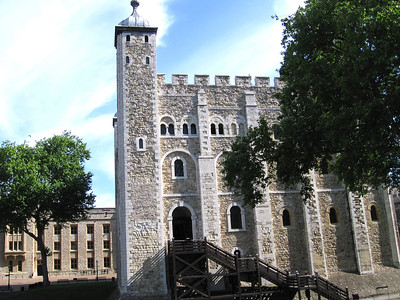The White Tower - Tower of London - May 22, 2007