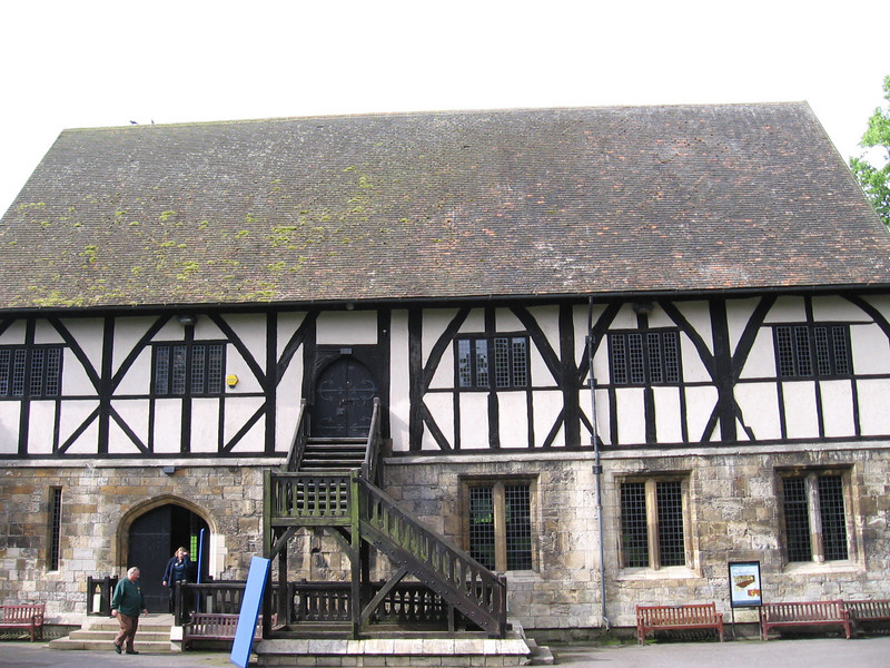 The Hospitum, a sixteenth century guesthouse at St. Mary's Abbey, York