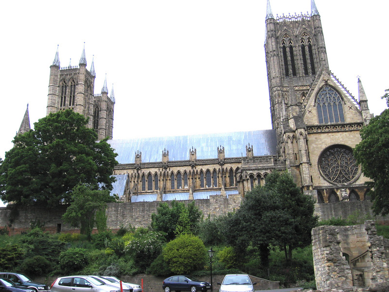 Lincoln Cathedral from Bishop's Palace
